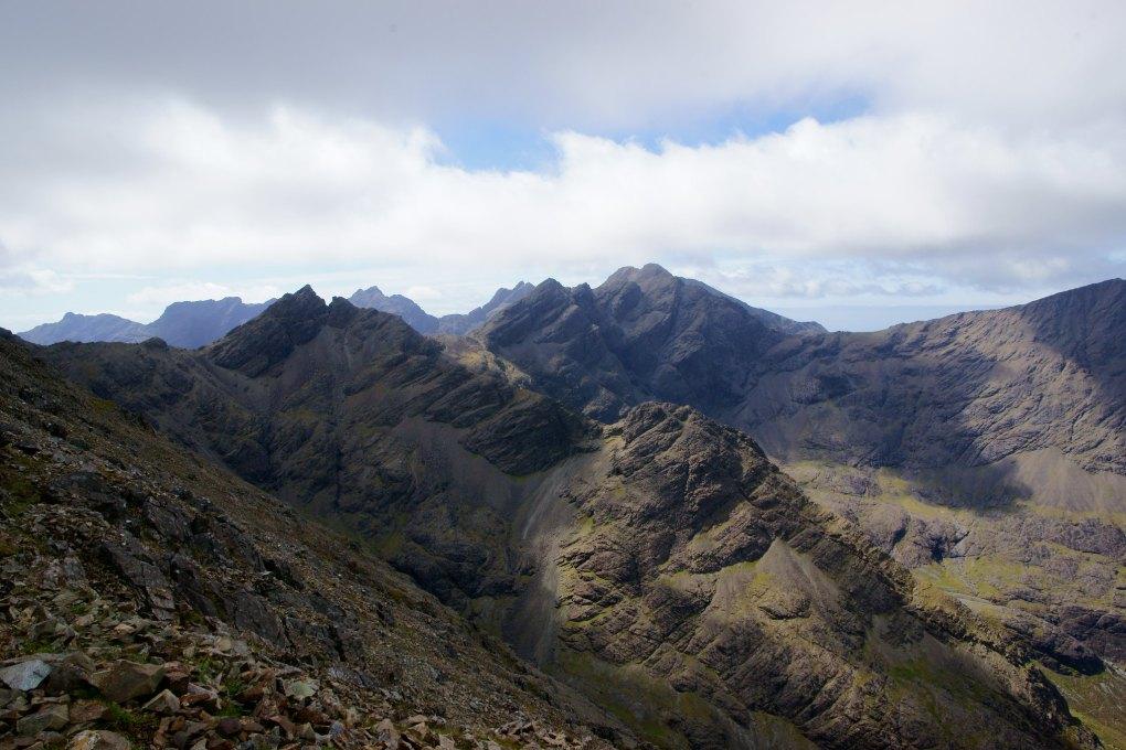 Cuillin Hills on the Isle of Skye, Scotland Highlander Filming Location