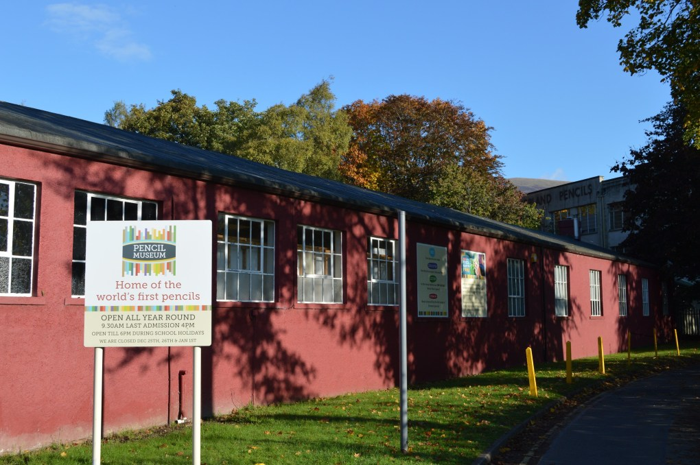 Derwent Pencil Museum in Keswick, England is a Sightseers Film Location