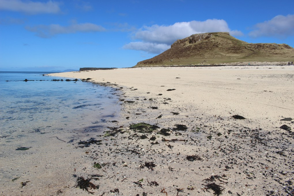 Claigan Coral Beach on the Isle of Skye, Scotland Outlaw Filming Location