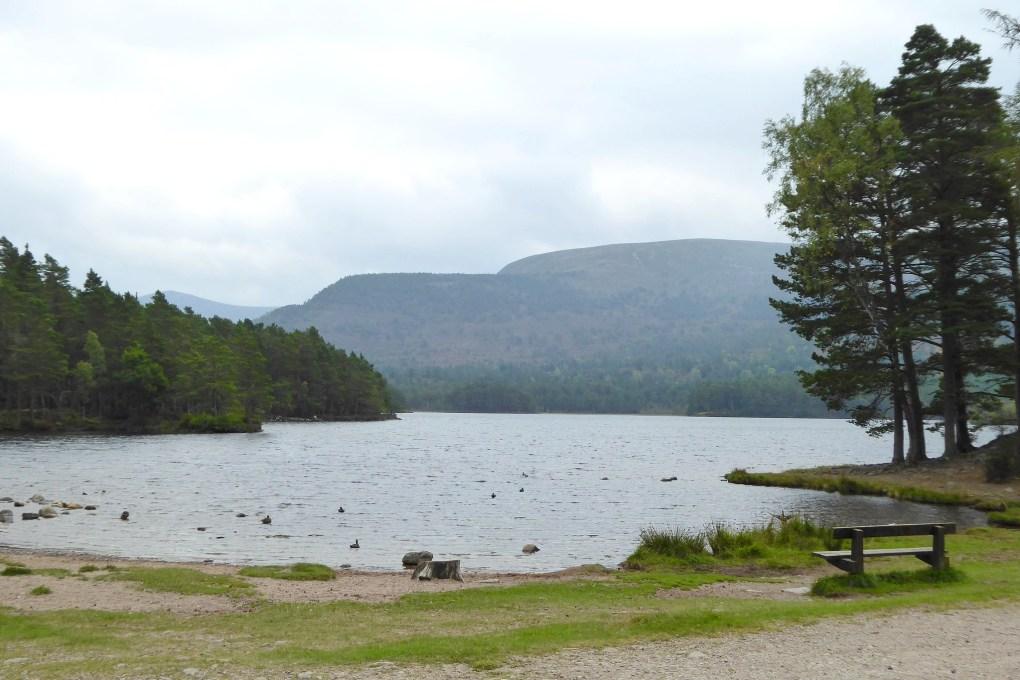 Loch an Eilein in Rothiemurchus, Scotland