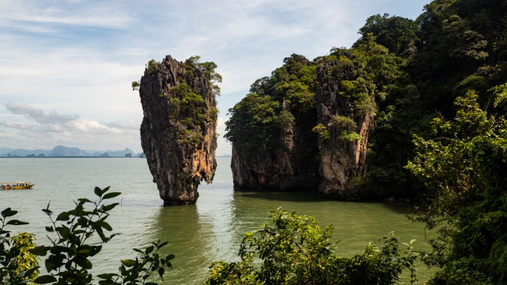 Famous Movie Location Phang Nga Bay in Phuket, Thailand