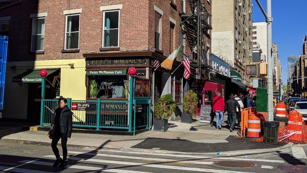 Peter McManus Cafe Irish Pub in Manhattan, New York City in the USA