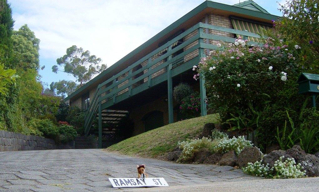 Pine Oak Court/Ramsay Street in Melbourne, Australia