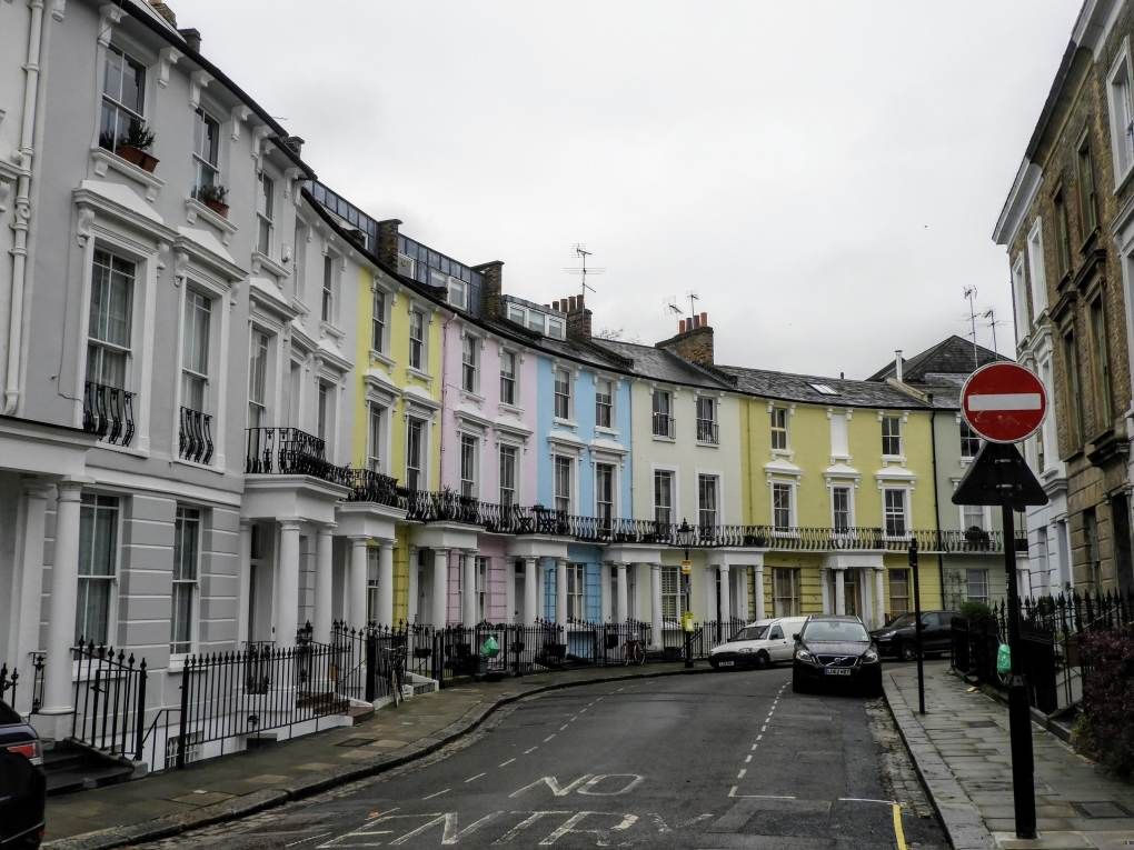 30 Chalcot Crescent in Primrose Hill, London in England Paddington Filming Location