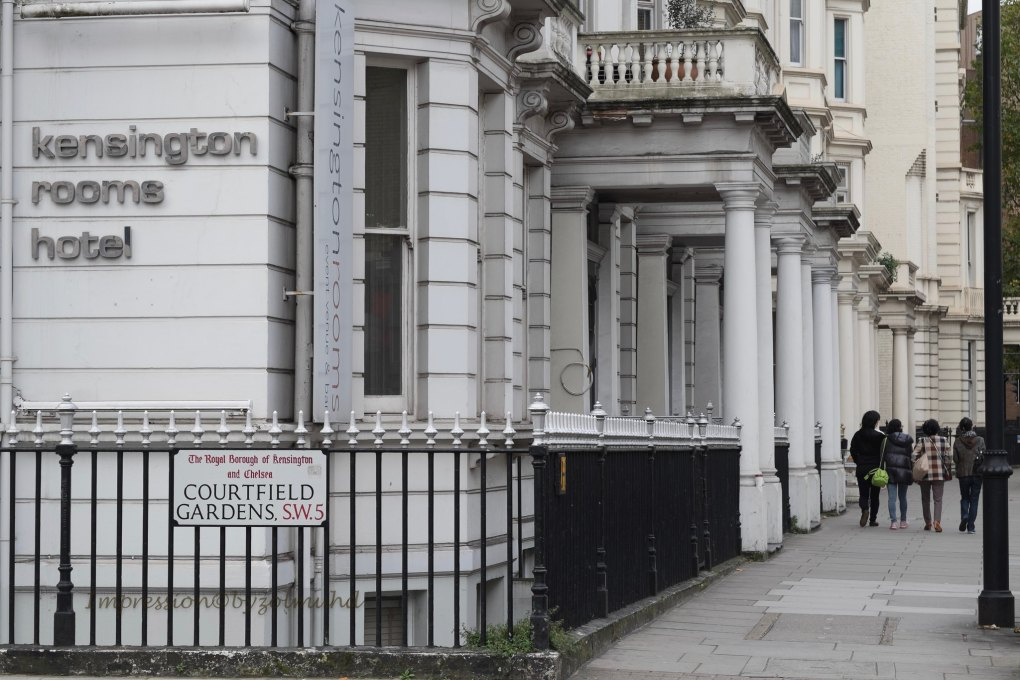 Courtfield Gardens in London, England About Time Filming Location