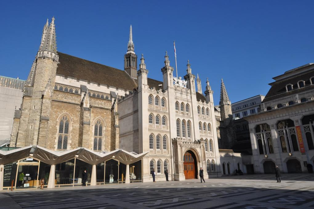 Guildhall in London, England Paddington Filming Location
