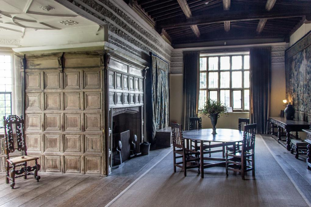 Haddon Hall in Derbyshire, England Mary Queen of Scots Filming Location