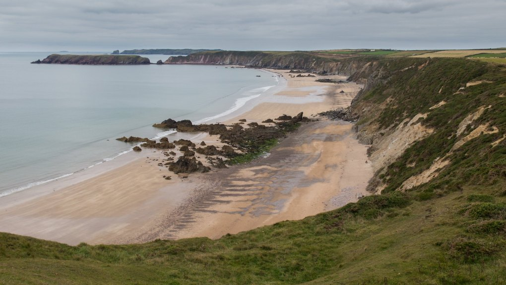 Marloes Sands in Pembrokeshire, Wales Snow White and the Huntsman Filming Location