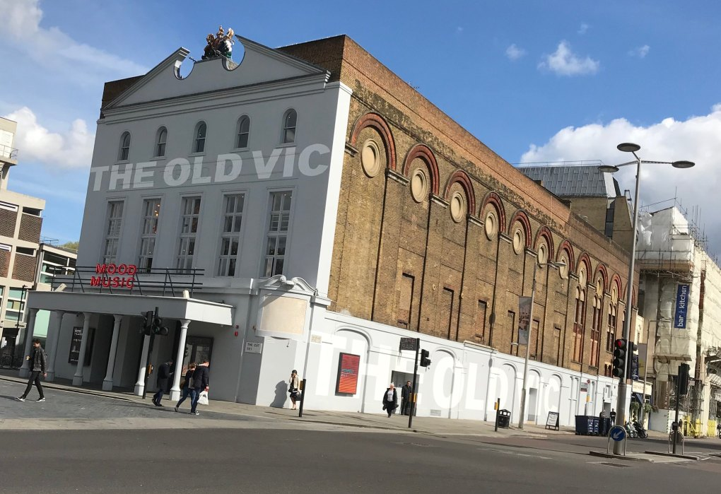 The Old Vic Theatre in London, England About Time Filming Location