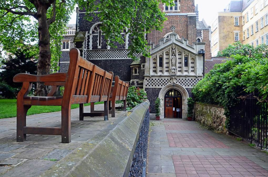 St Bartholomew the Great Church in London, England
