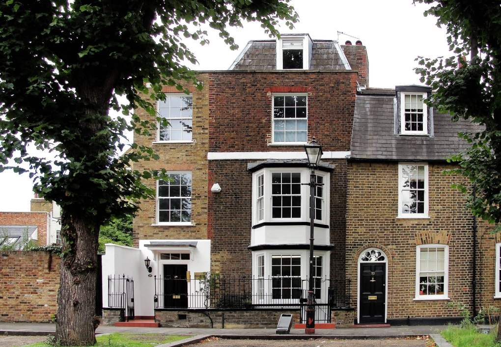 The Butts in Brentford in London, England Miss Potter Film Location
