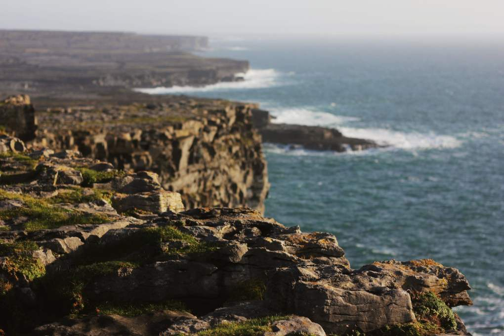 Dún Aonghasa on Inishmore, Aran Islands in County Galway, Ireland Leap Year Filming Location