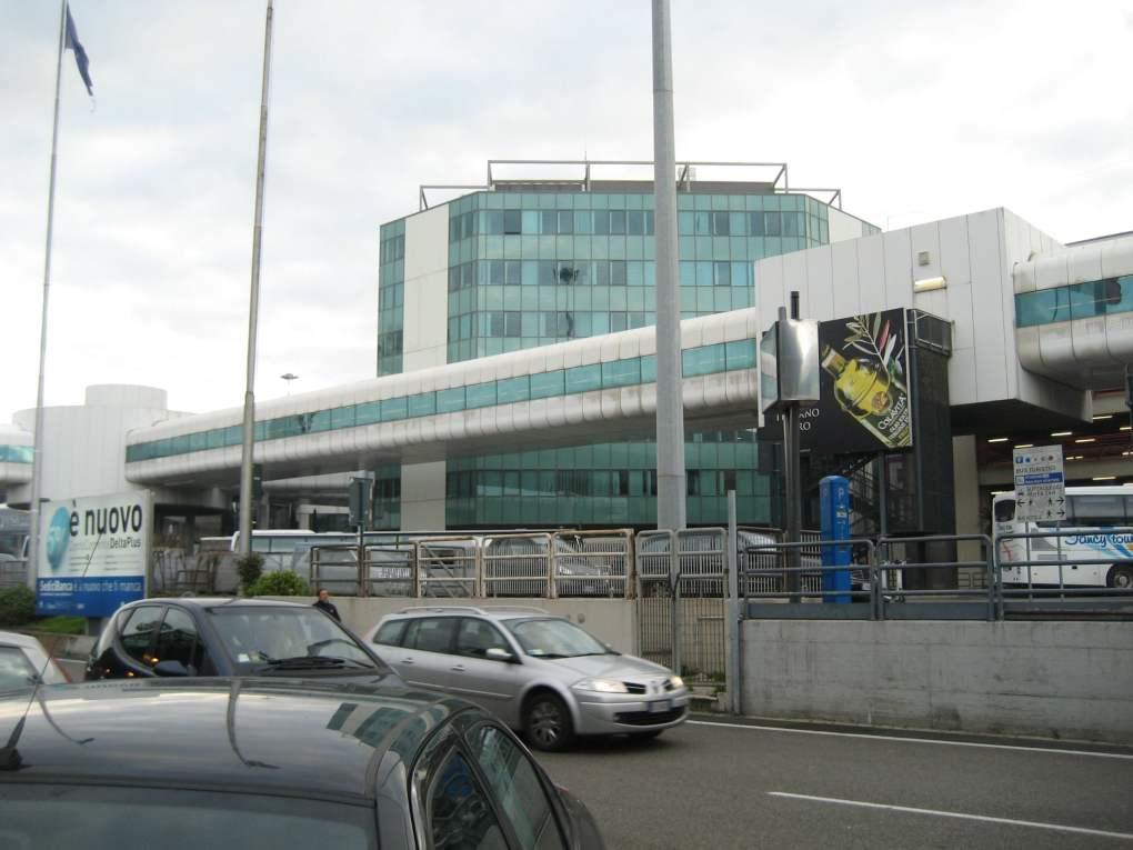 Fiumicino Airport in Rome, Italy