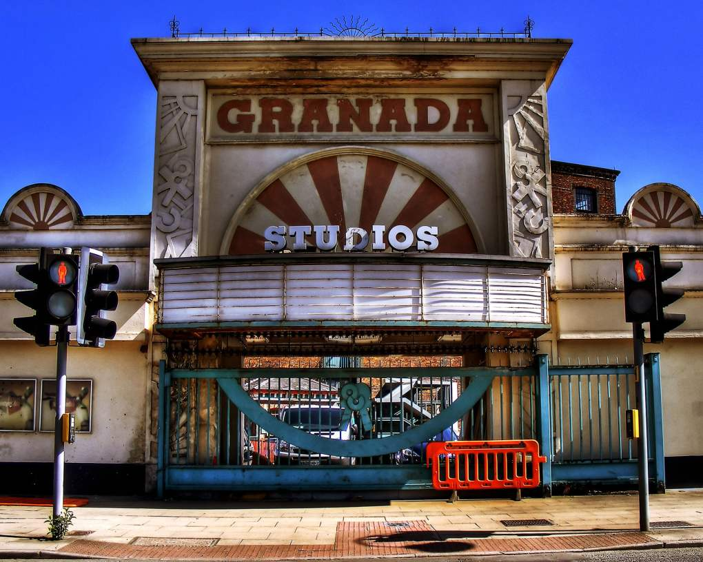 Old Granada Studios in Manchester, UK 24 Hour Party People Filming Location