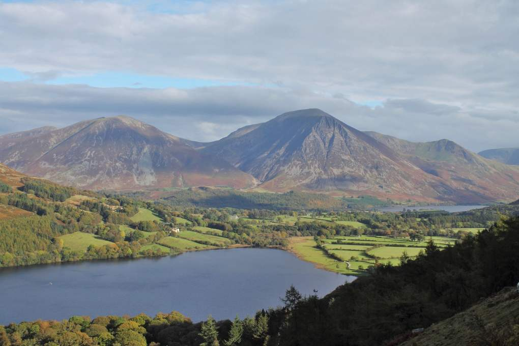 Loweswater in the Lake District, England Miss Potter Film Location