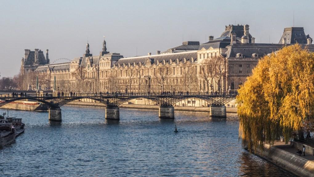 Square du Vert-Galant in Paris, France