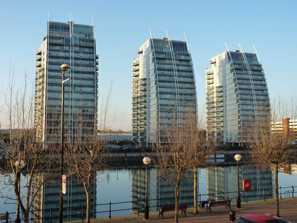 Lowry Apartments in Salford, UK