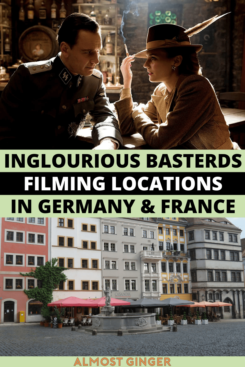 Inglourious Basterds Filming Locations in Germany & France | almostginger.com