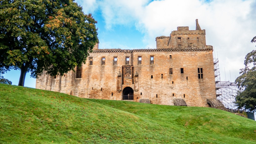Linlithgow Palace in Linlithgow, Scotland