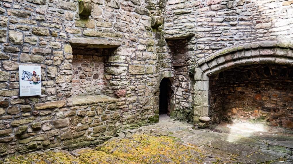 Craigmillar Castle in Edinburgh, Scotland