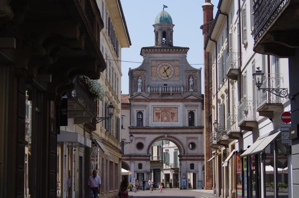 Arco del Torrazzo in Crema, Italy