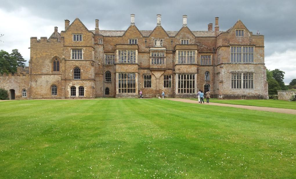 Broughton Castle in Banbury in Oxfordshire, England