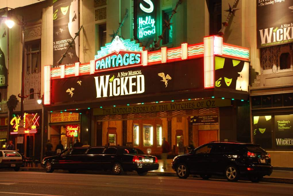 Hollywood Pantages Theatre in Los Angeles, USA