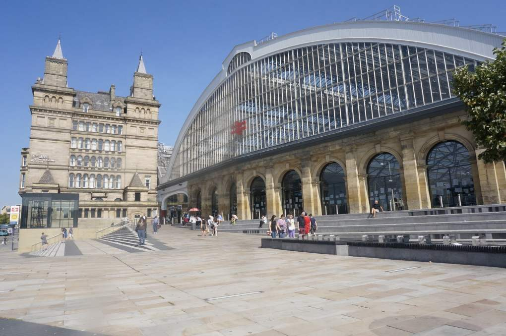 Liverpool Lime Street Station in Liverpool, England