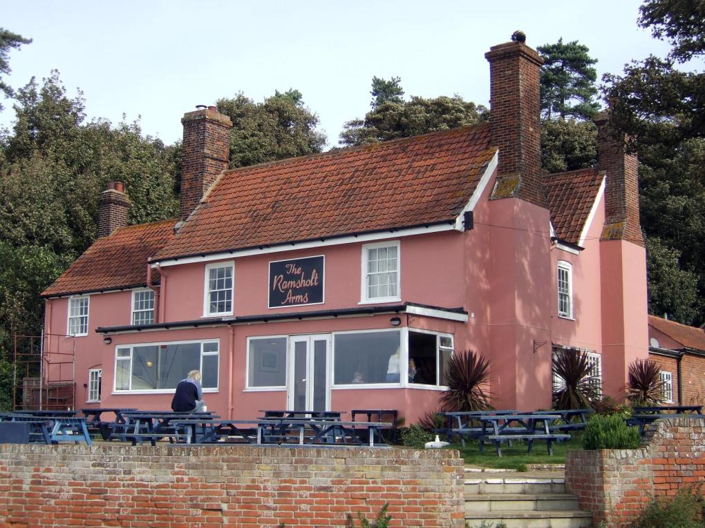 The Ramsholt Arms in Woodbridge, Suffolk in England Yesterday Film Location