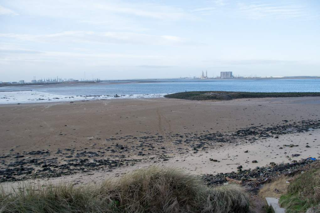 Redcar Beach in Redcar, North Yorkshire in England Atonement Filming Location
