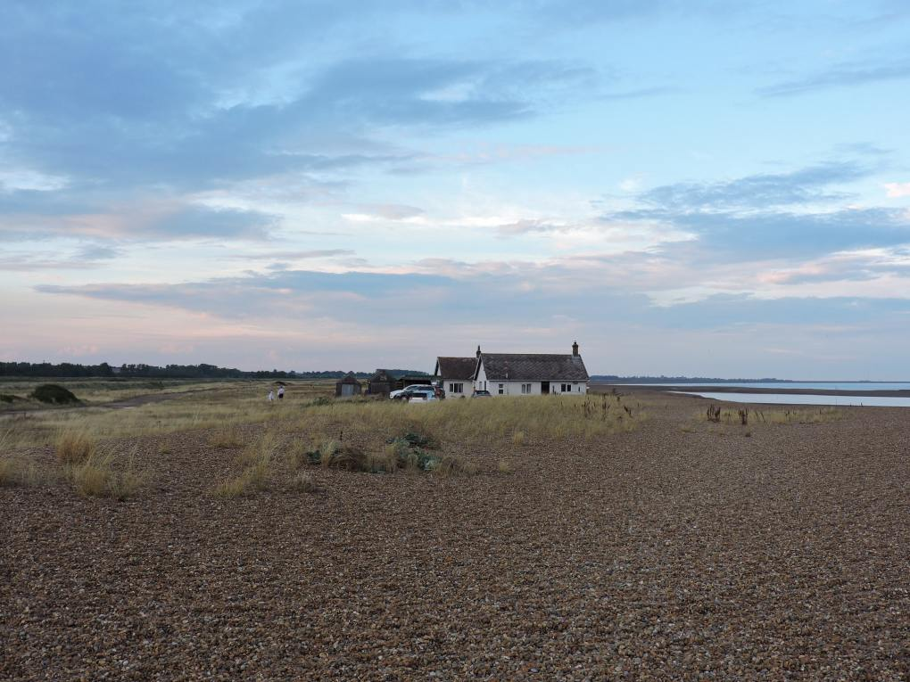 Shingle Beach in Woodbridge, Suffolk in England Yesterday Film Location