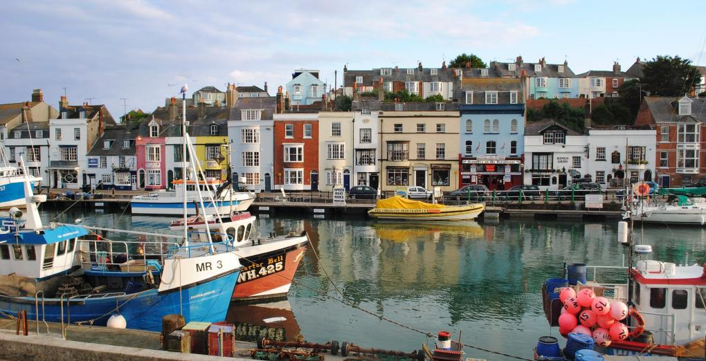 Weymouth Harbour in Dorset, England Dunkirk Filming Location