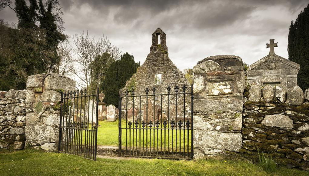 Anwoth Old Church in Castle Douglas, Scotland The Wicker Man Filming Location