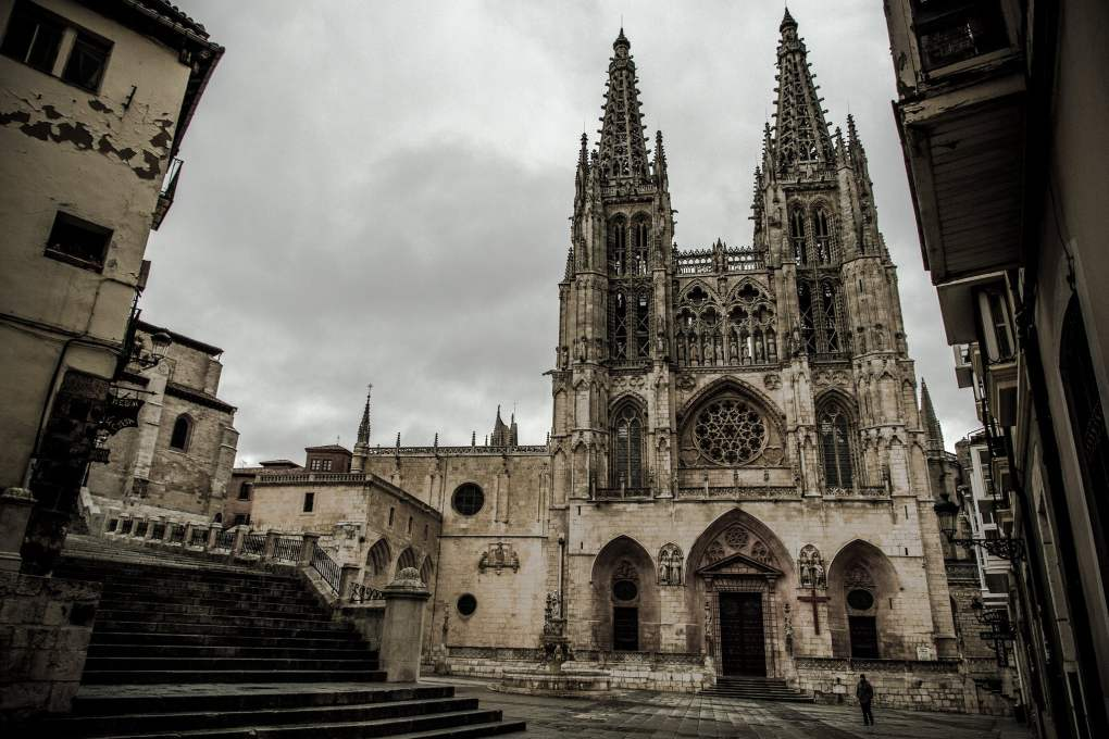 Burgos Cathedral in Burgos, Spain