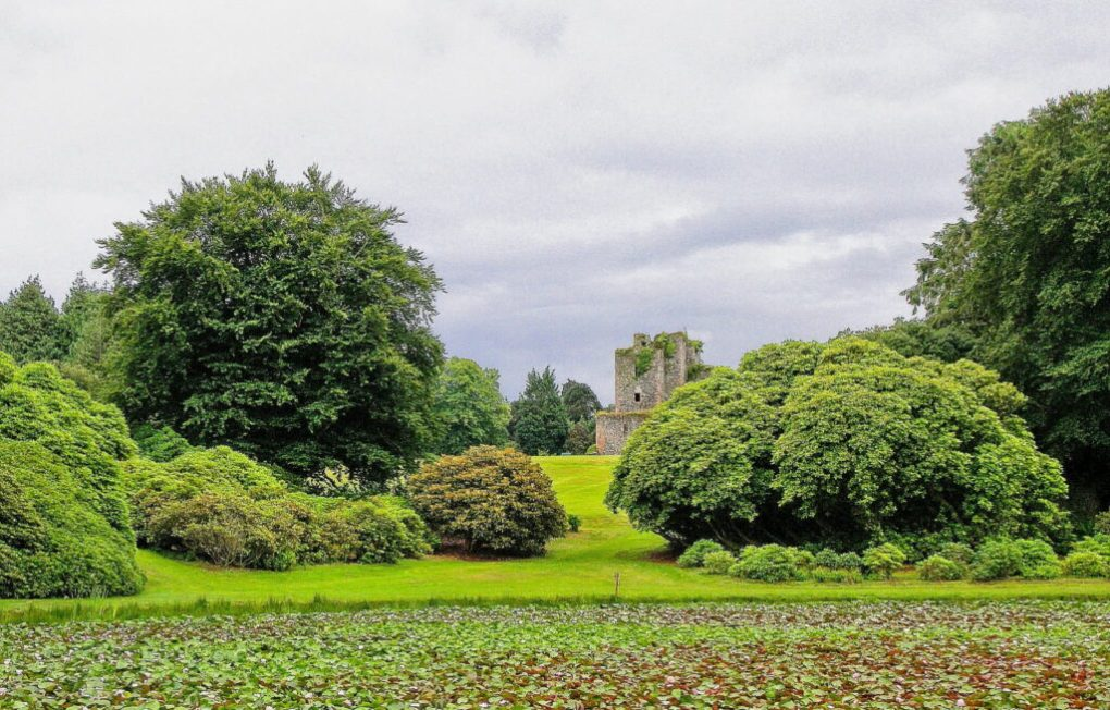 Castle Kennedy in Stranraer, Scotland
