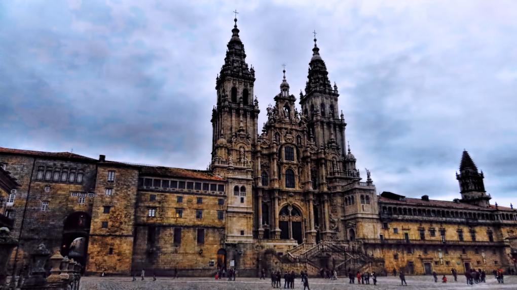 Cathedral of Santiago de Compostela in Spain The Way Filming Location