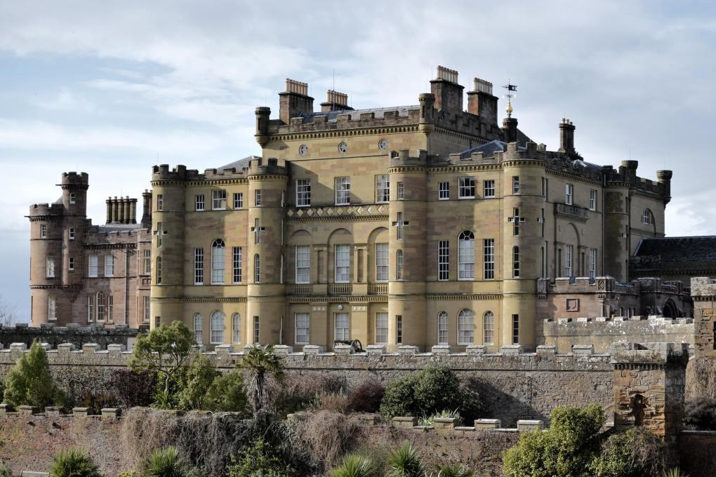 Culzean Castle in Maybole, Scotland The Wicker Man Filming Location