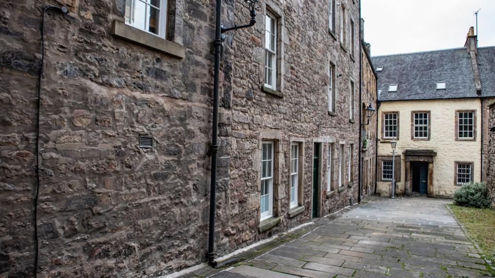 Tweeddale Court in Edinburgh, Scotland Edinburgh Outlander Location