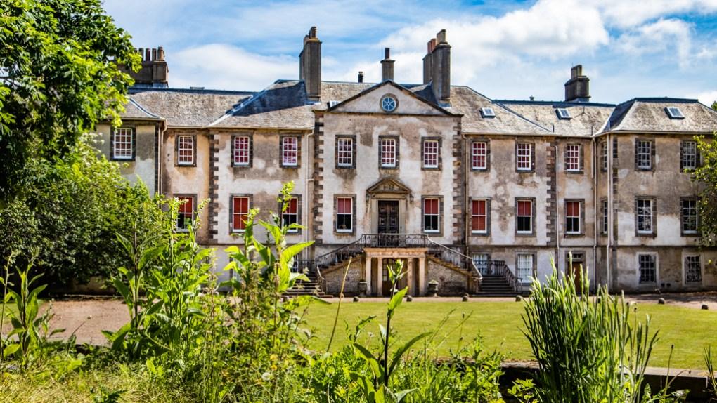 Newshailes Estate in Musselburgh, Edinburgh in Scotland