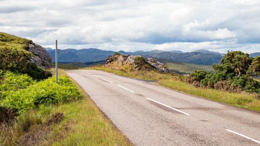 Road on the North Coast 500