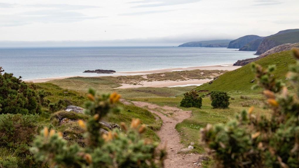 Sandwood Bay Beach in Scotland