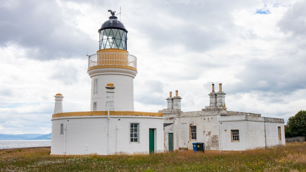 Chanonry Point Lighthouse on the Black Isle in Scotland
