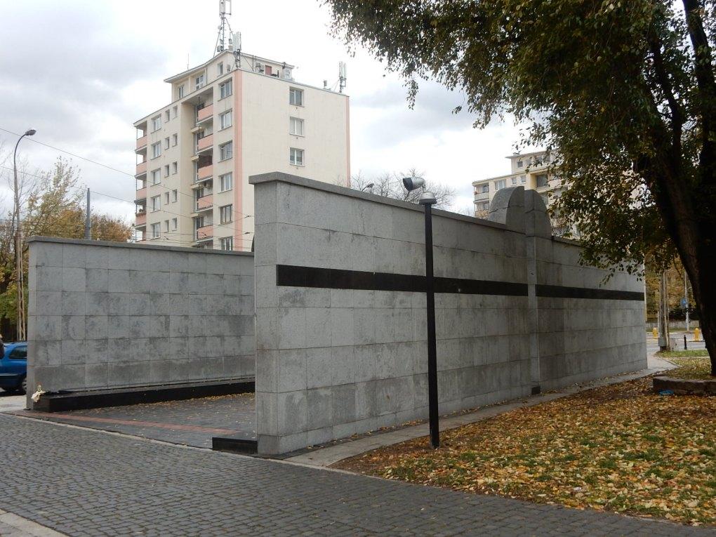 Umschlagplatz Memorial in Warsaw, Poland