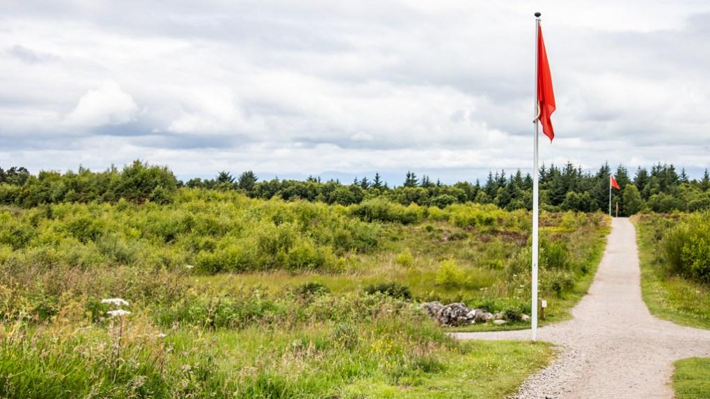 Culloden Battlefield in Scotland Outlander Culloden Battlefield Location