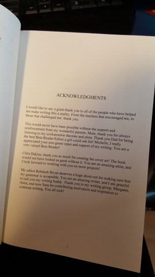 """Acknowledgments for """"Through the Mountains"""" by Malinda Andrews"""