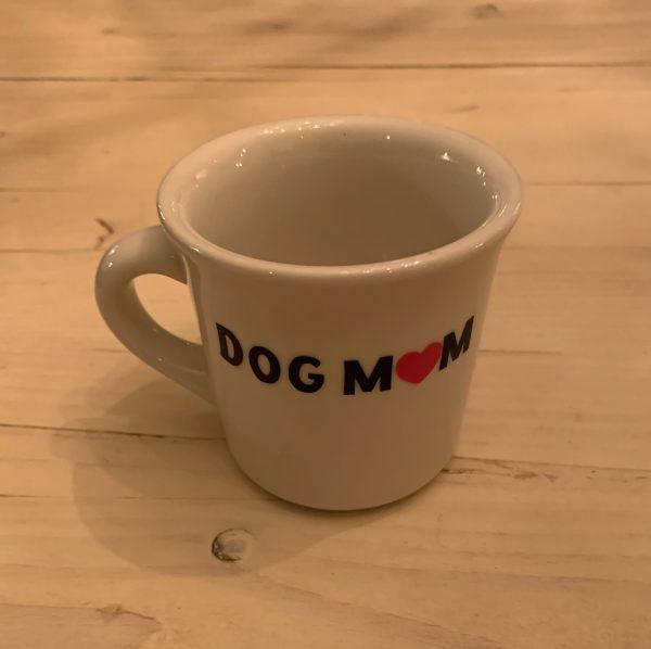 Dog Mom Woof Coffee Mug