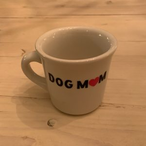Dog Mom Woof Coffee Mug