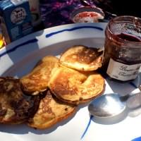 Sourdough Pancakes by the Sea