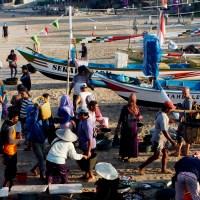 A Quest for Fish. Jimbaran Fish Market, Bali