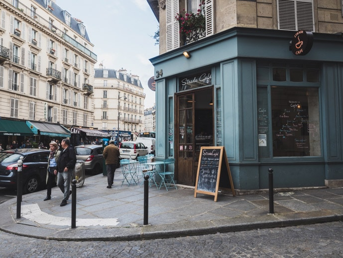 Strada Cafe Paris